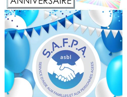 L'asbl SAFPA a 63 ans ! Joyeux Anniversaire…